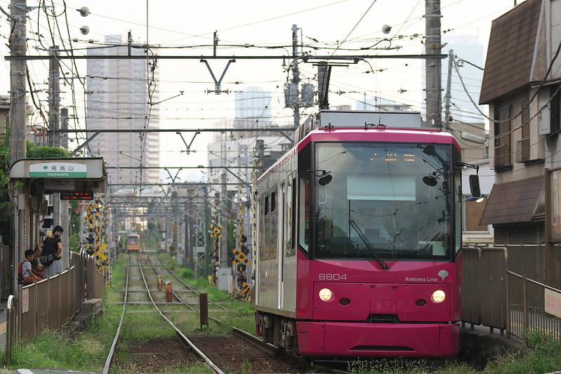 Tokyo Train Story 都電荒川線 2016年8月13日