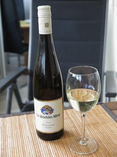 2014er Riesling (vom Weingut Dr. Bürklin-Wolf)