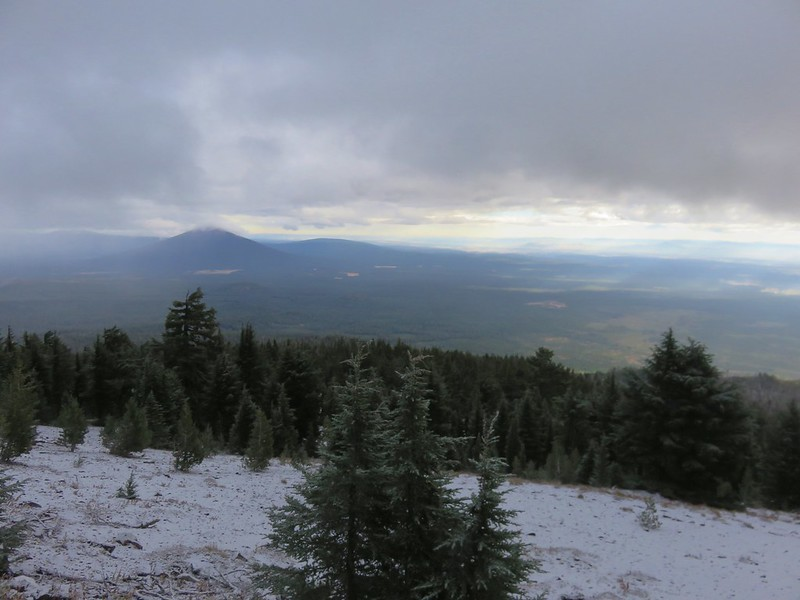 Black Butte from the Black Crater Trail