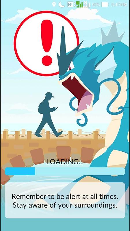 Pokemon Go Loading Screen
