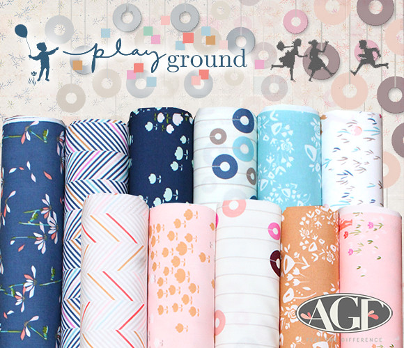 Art Gallery Fabrics Playground Collection by Amy Sinibaldi