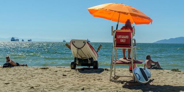 Third Beach Lifeguard