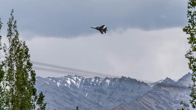 IAF Su-30 near Leh