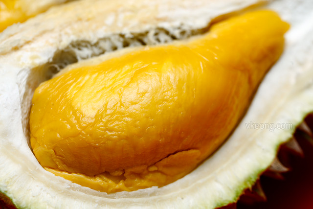 Musang King Durian Flesh
