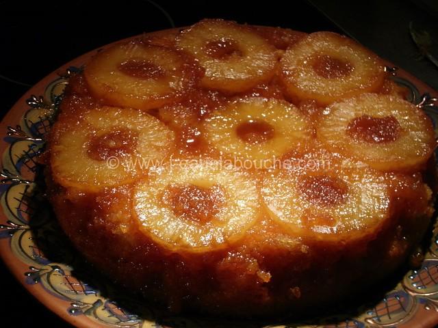 Gateau Renversé à l'Ananas © Ana Luthi Tous droits réservés 008