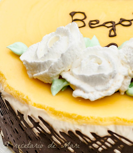 Tarta de queso y limón 1