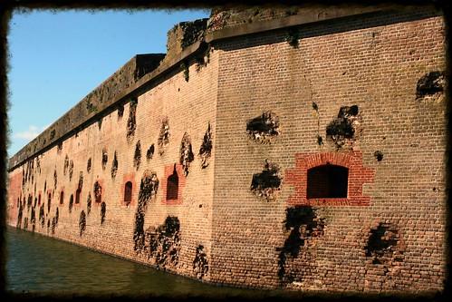 Ft Pulaski wall