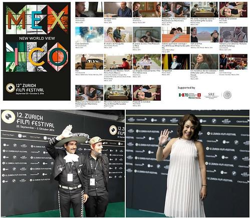 México como Invitado Especial en el  Festival de Cine de Zúrich