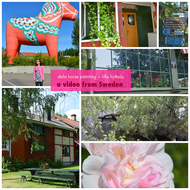 A visit to Dalarna - video on my blog www.ihanna.nu #sweden #dalarna #dalahäst