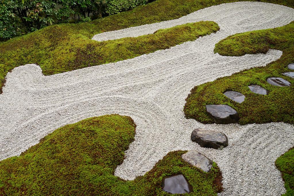 rock garden@Zuihoin 瑞峯院の石庭