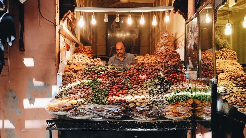 Morocco medina vendor
