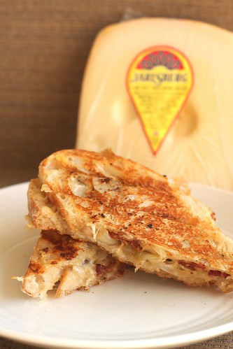 Cheesy Bacon Onion Panini