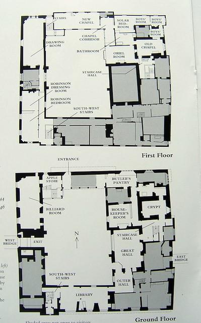 Ightham Mote plan