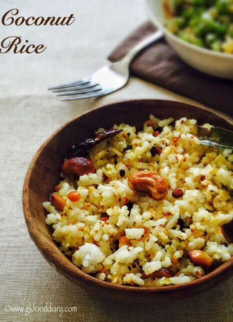 Coconut Rice Recipe for Toddlers and Kids4