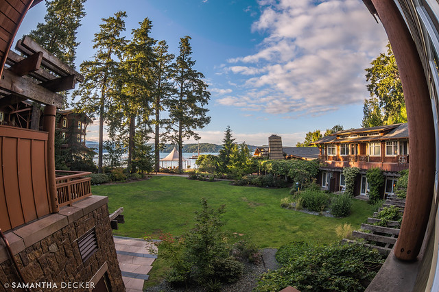View from the Alderbrook