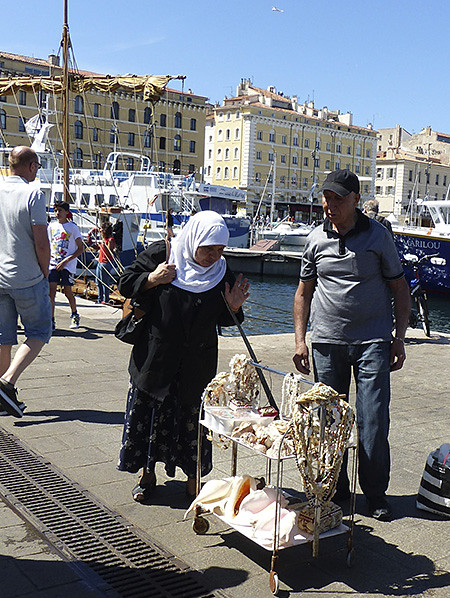 coquillages Marseille