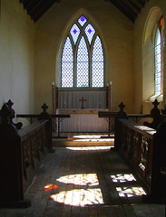 light in the chancel