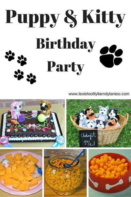 Puppy & Kitty Birthday Party