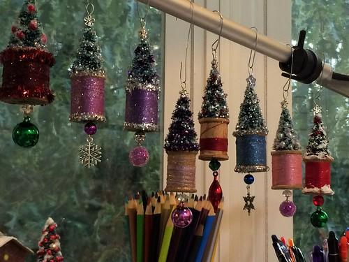 spool ornaments