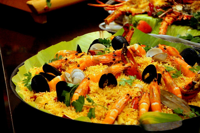 Crustacean Paella