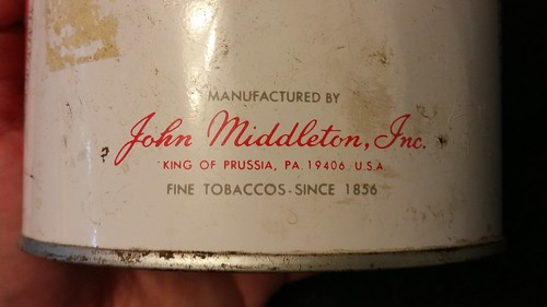 Anyone know when Middleton 7 oz cans were discontinued?? 28793371822_bb8234cbba