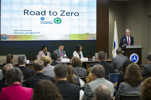 NHTSA's Road to Zero Announcement with NSC