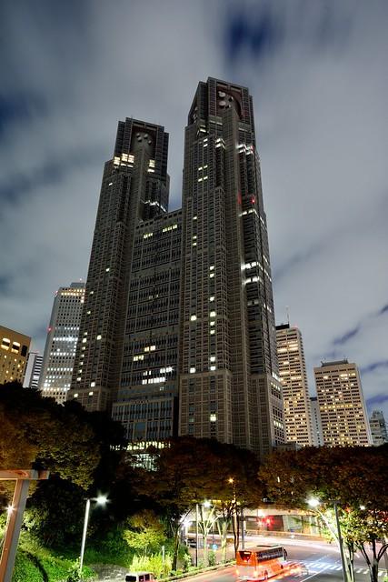 都庁_夜景