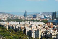 Torre Agbar. Barcelona. Spain