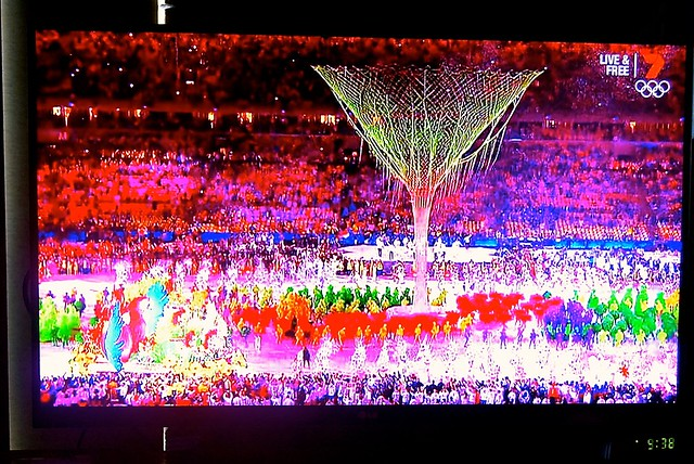 We watched the live telecast of the Rio Olympic closing ceremony in Freo