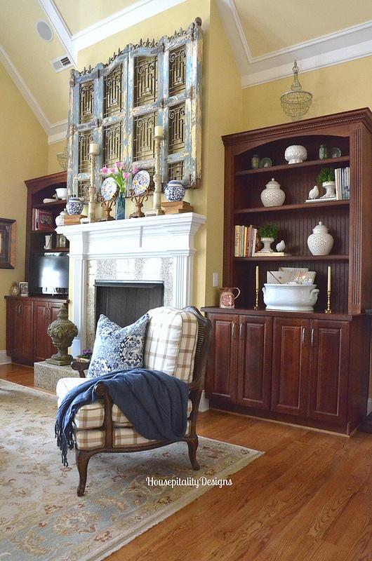 Great Room Mantel - Housepitality Designs