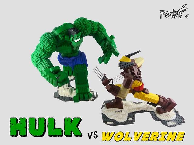 Hulk vs Wolverine 01