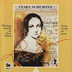 Clara Wieck Schumann Oeuvres Of Jeunesse -youth Works- Teresa Laredo Vde-gallo