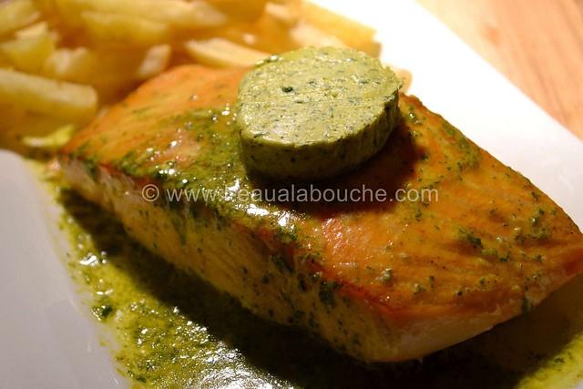 Saumon à la Plancha Beurre Epicé & à la Ciboulette © Ana Luthi 0007