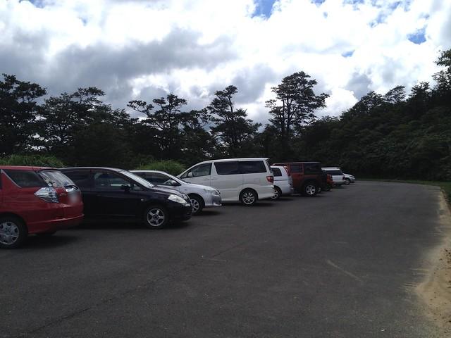 冠山 冠山峠 駐車場