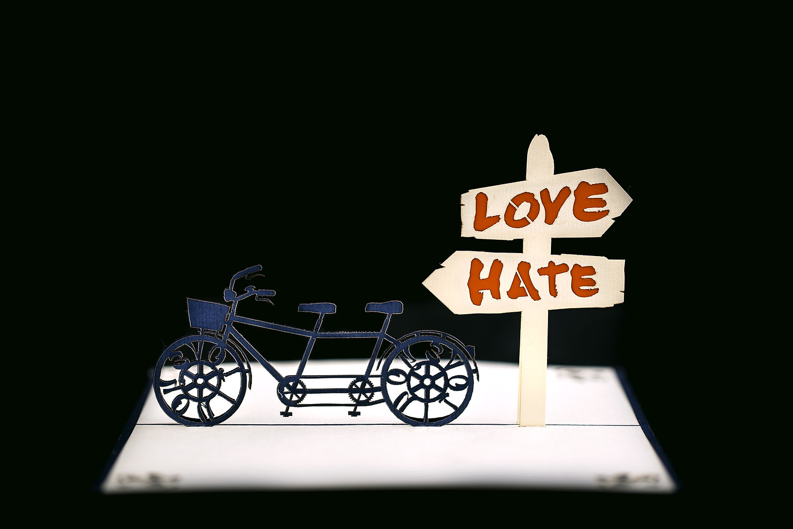 Pop Up Love Hate