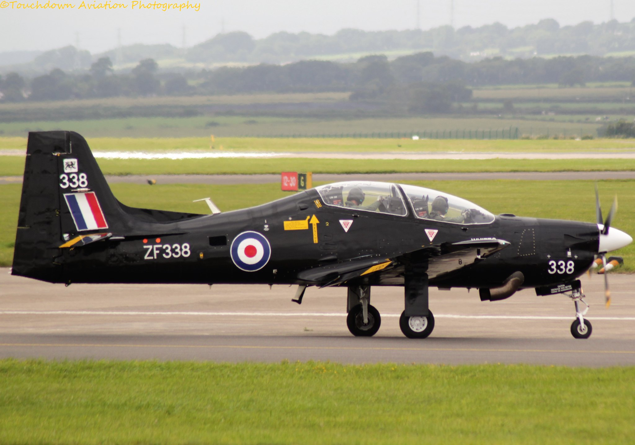 Royal Air Force Tucano T.1 ZF338 08AUG16