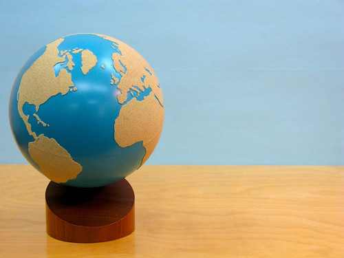 Sandpaper-Globe