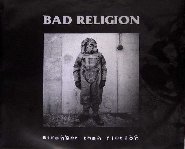 BAD RELIGION STRANGER THAN FICTION LIMITED EDITION WHITE VINYL