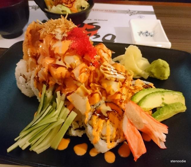Toronto Roll from Osaka Sushi Japanese Restaurant