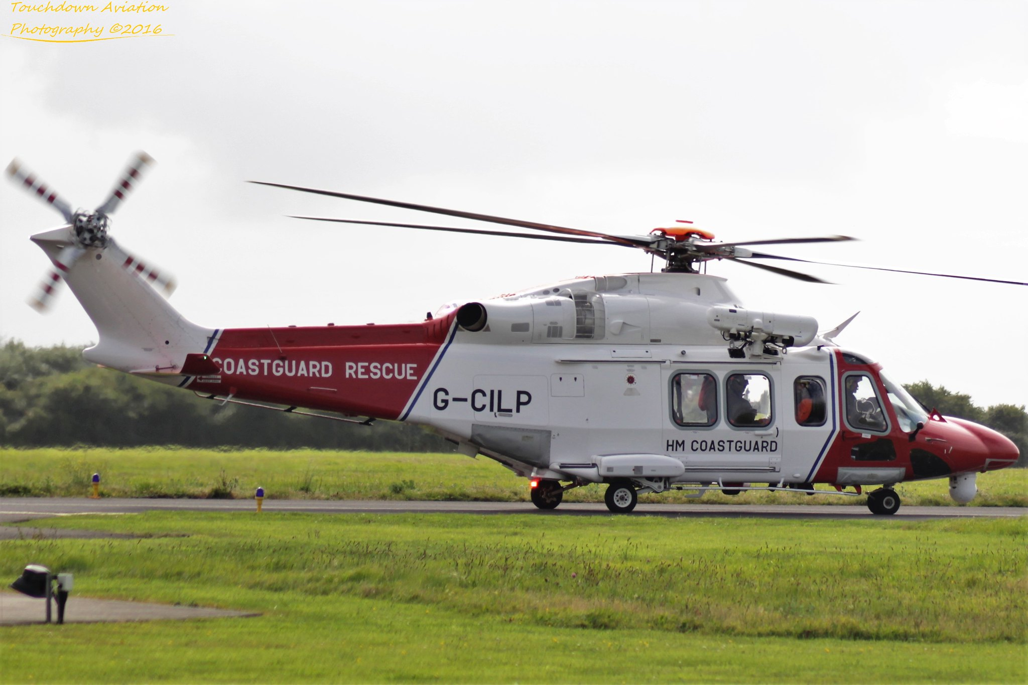 UK Search & Rescue AW139 G-CILP 03AUG16