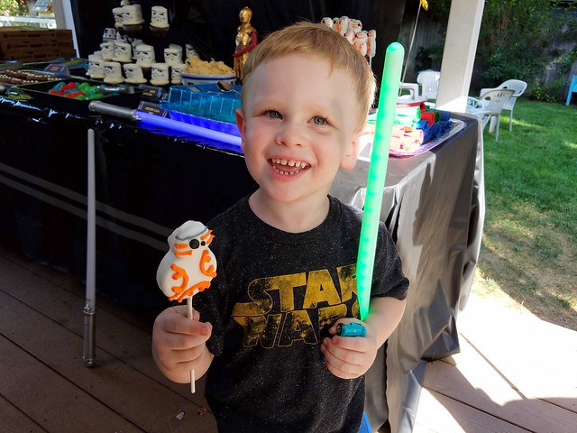 Eisley's 8th Birthday - Star Wars!