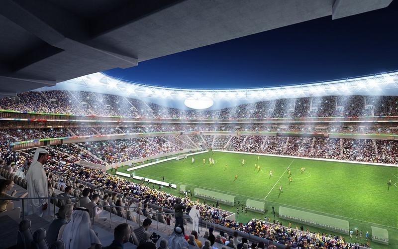 Стадион Мохаммеда ибн Рашида в Дубае. Проект Perkins + Will