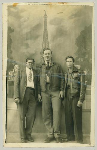 Three men in France