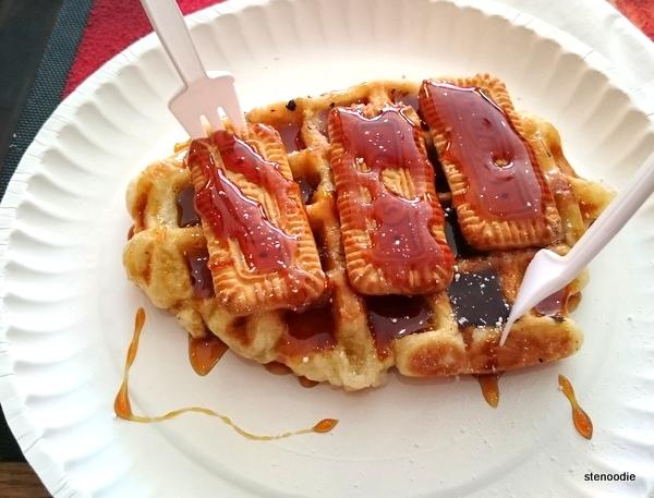 Ijsberg waffle