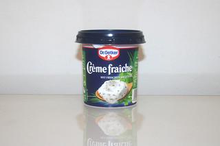 07 - Zutat Creme fraiche Kräuter / Ingredient creme fraiche with herbs