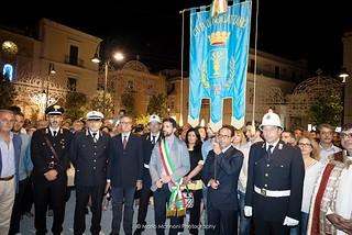 Noicattaro. Cerimonia di inaugurazione di piazza Umberto I front