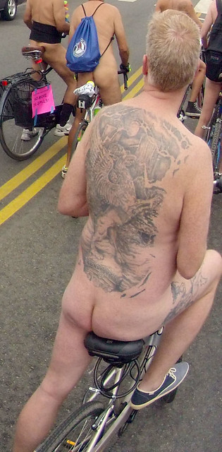 LA World Naked Bike Ride (265A)