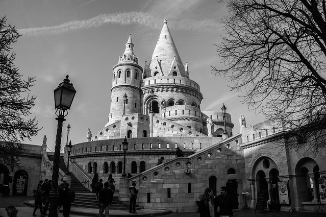 Рыбацкий Бастион. Будапешт. Halászbástya - Bastión de los pescadores