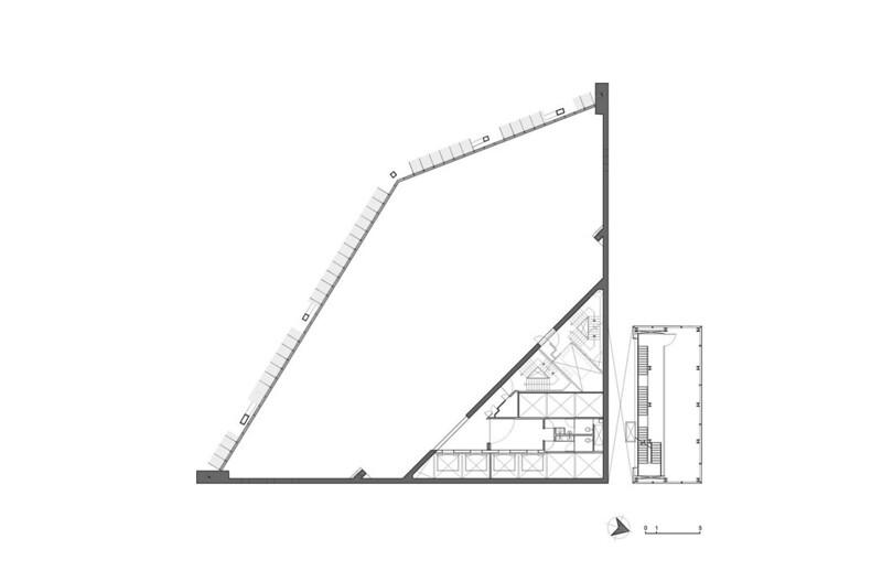 План этажа башни Torre Reforma в Мехико