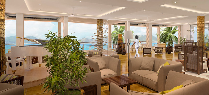 The Reef by CuisinArt Anguilla Lobby